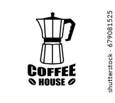 coffee logo with turk for... | Shutterstock .eps vector #679081525