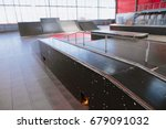 skate track. close up of a... | Shutterstock . vector #679091032