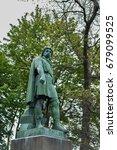 rollon monument  alesund ... | Shutterstock . vector #679099525