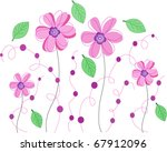 flower | Shutterstock .eps vector #67912096