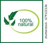 natural vector logo | Shutterstock .eps vector #679122136