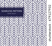 seamless pattern background... | Shutterstock .eps vector #679127932