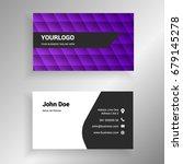 purple gradient vector modern...   Shutterstock .eps vector #679145278