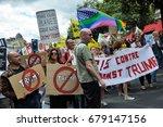 paris  france   july 14  2017   ... | Shutterstock . vector #679147156