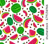vector seamless pattern with...   Shutterstock .eps vector #679156966