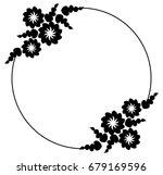 black and white silhouette... | Shutterstock .eps vector #679169596