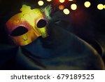 carnival mask | Shutterstock . vector #679189525