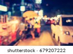 abstract blur image of  night... | Shutterstock . vector #679207222