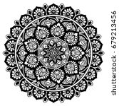mandalas for coloring book.... | Shutterstock .eps vector #679213456