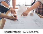 image of engineer or... | Shutterstock . vector #679226596