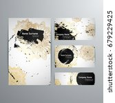 set of vector design templates. ... | Shutterstock .eps vector #679229425