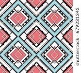 seamless geometric | Shutterstock .eps vector #679231342
