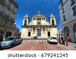paris   france   june 19 2017   ...   Shutterstock . vector #679241245