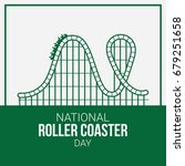 national roller coaster day | Shutterstock .eps vector #679251658