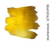 gold foil vector illustration.... | Shutterstock .eps vector #679251958