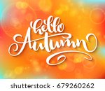 vector banner with hand... | Shutterstock .eps vector #679260262