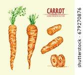 digital vector detailed line... | Shutterstock .eps vector #679270876