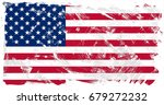 united states of america flag... | Shutterstock . vector #679272232