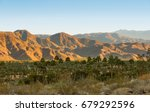 view on the valley with the...   Shutterstock . vector #679292596