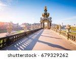 nice image of the der zwinger... | Shutterstock . vector #679329262