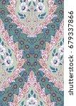 damask seamless wallpaper | Shutterstock . vector #679337866