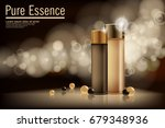 essence contained  ads  gold... | Shutterstock .eps vector #679348936