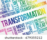 transformation word cloud ... | Shutterstock .eps vector #679355212