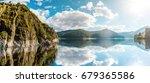 wonderful sunny landscape....   Shutterstock . vector #679365586