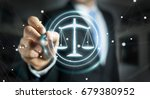 businessman on blurred... | Shutterstock . vector #679380952