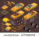 performance car engine tuning... | Shutterstock .eps vector #679388398