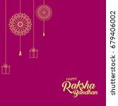 happy raksha bandhan... | Shutterstock .eps vector #679406002