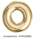 o letter alphabet  font balloon ... | Shutterstock . vector #679420882