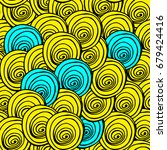 abstract seamless pattern....   Shutterstock .eps vector #679424416