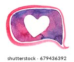 pink and purple dialog bubble...   Shutterstock . vector #679436392