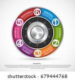 infographic design template.... | Shutterstock .eps vector #679444768