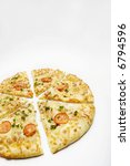 pizza on the white background | Shutterstock . vector #6794596