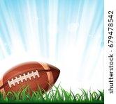 american football background ... | Shutterstock .eps vector #679478542