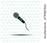 microphone icon | Shutterstock .eps vector #679482562