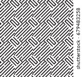seamless geometric pattern with ... | Shutterstock .eps vector #679483258