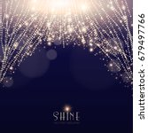 abstract elegant shining... | Shutterstock .eps vector #679497766