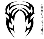 tattoo tribal vector designs. | Shutterstock .eps vector #679533022