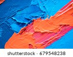 hand drawn oil painting.... | Shutterstock . vector #679548238