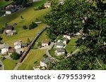 switzerland july 2012  swiss... | Shutterstock . vector #679553992