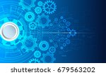 cyber security  vector... | Shutterstock .eps vector #679563202