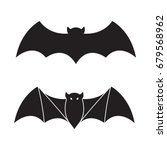 bat vector icon halloween... | Shutterstock .eps vector #679568962
