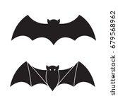 bat vector icon halloween... | Shutterstock .eps vector #679568962