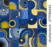 abstract background pattern... | Shutterstock .eps vector #679586662