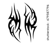 tattoo tribal vector designs. | Shutterstock .eps vector #679587796