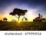 traveling adventure in the...   Shutterstock . vector #679594516