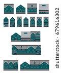 vector design building. home... | Shutterstock .eps vector #679616302